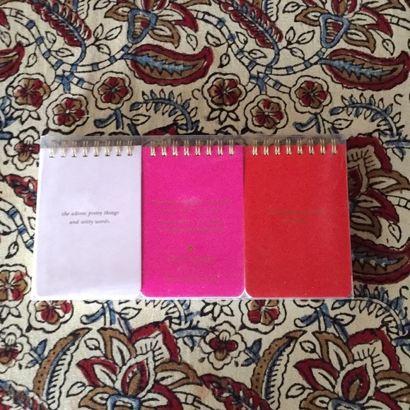 kate spade Other - Kate Spade Spiral Lined NotePads